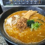 麺屋遊膳 - 坦々麺+メンマ増量・790円+100円