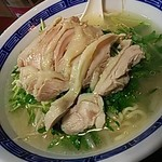 翔ちゃん - 豆苗鶏肉ラーメン
