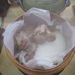 信玄館 - セイロ蒸し
