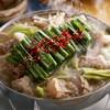 Hakatamotsunabearidukiaritsuki - 料理写真:白のもつ鍋