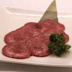 肉菜薄切り赤身タン