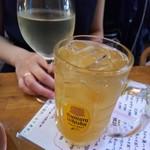 おでんと串カツ姫路のお店 - 乾杯(姫路ハイボールと日本酒)