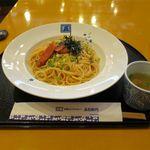 洋麺屋 五右衛門 - 炙りたらこ&たらこバター(1,026円)
