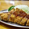 とんかつ 万平 - 料理写真:ロースカツ定食@1,700円