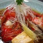 市場食堂 さかなや - 本日のかぶと煮付け(金目鯛) ¥900