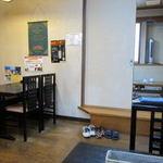 11634772 - 店内は特に飾り気のない洋食屋さん。気楽に食べられます。