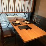 銀座 きた福 - 個室