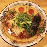 116342613 - 蔵出し醤油麺 味玉入り、麺大盛です。(2019.9 byジプシーくん)