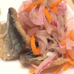 116342935 - ・秋刀魚のマリネ