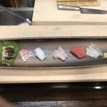 太郎寿司 - 料理写真:刺身盛合せ