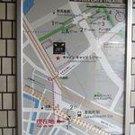 11635488 - 1.横浜市営地下鉄ブルーライン 高島町駅1番出口を出て右折