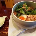 116353796 - 鶏白湯しょうゆそば&ぷち御飯(¥880)