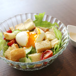 Cafe Beetle - パンサラダ 500円+税
