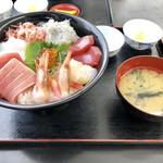小川港魚河岸食堂 -