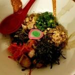 らふ家 - 塩白湯ハーフ 500円