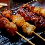 さんまる - 串焼き4本セット315円