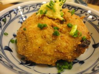 魚がし酒場 菊次 - イカの落とし揚げ