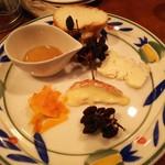 バール aBuku - チーズ盛り合わせ3種