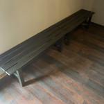 円熟屋 - 待合椅子
