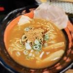おれ流ラーメン鶏さき麺いち - 料理写真:魚介鶏白湯ラーメン