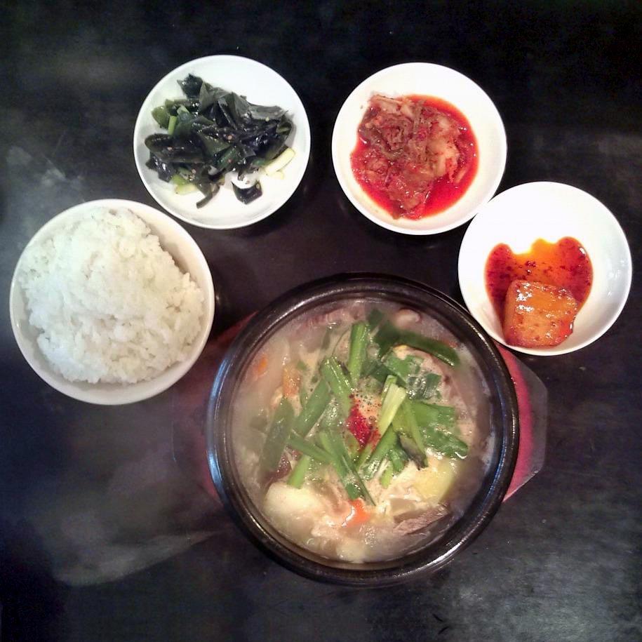 韓国家庭料理 海