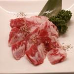肉菜塩カルビ
