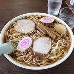 仙台屋食堂 - 大盛中華そば ¥700