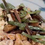 加賀 - 山菜