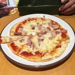 116389789 - 世にも珍しい細切りピザ