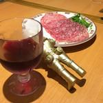 116389791 - ワインとサラミとキングジョー
