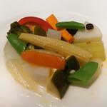 コート ドール - 野菜のエチュベ