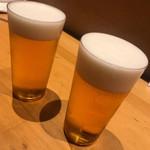 博多 表邸 - 生ビール