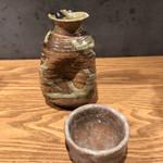 116391616 - 酔鯨(高知) 辛口の美味しいお酒。キリリとしてお蕎麦に合います。ぬる燗で。