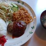 バンビ - 料理写真:ハンバーグランチ700円