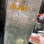 立ち飲み居酒屋 ドラム缶 - ポン酢サワー(2杯目)