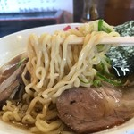 千石や - 醤油よくばり麺ちぢれ900円