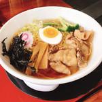 つくば製麺31 - 料理写真:醤油ラーメン