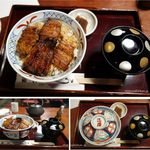 辻屋 - 並丼。うなぎ辻屋(岐阜県関市)食彩品館.jp撮影