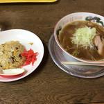 正竜亭 - 料理写真:ラーメン・チャーハン