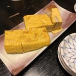 日本橋 玉ゐ - だし巻き玉子(あなご入り)