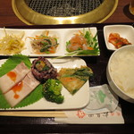 松島園 - 本日の韓定食