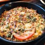 ボッコカリー - 焼きカレーはトマトチーズと 茄子コーン・チーズ