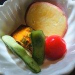 ボッコカリー - きれいな色の野菜たち❤︎
