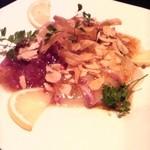 猪の蛍 - 本日の鮮魚カルパッチョ