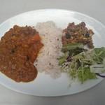 阿里山cafe - お豆と季節野菜のカレー