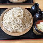 藤源 - もり蕎麦中盛