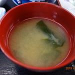 浅野食堂 - 味噌汁
