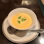 肉匠なか田 - 冷製コーンスープ