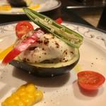 肉匠なか田 - グラタン風冷製水茄子のマリネ