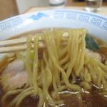 中華そば菊元 - 麺のアップ